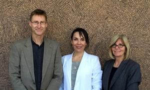 Image of Associate Professor Mike Dockery with Dr Carla Houkamau and NCSEHE Director Pr...