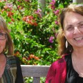 Photo of NCSEHE Director Professor Sue Trinidad and QUT Equity Director Mary Kelly sitt...