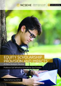 Cover image: Equity Scholarship Provision and Impacts