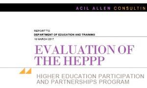 HEPPP report