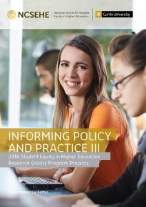 2016 Informing Policy and Practice