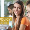 Informing Policy and Practice III