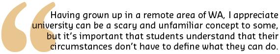 Student quote