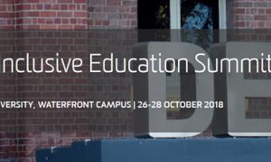 The Inclusive Education Summit 2018 header