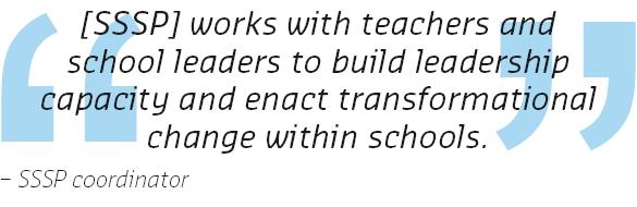 SSSP coordinator quote