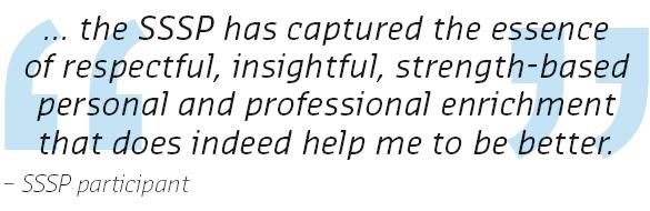 SSSP participant quote