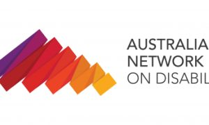 Australian Network on Disability logo.