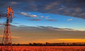 Regional Australia landscape