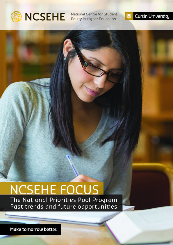 NCSEHE Focus - The National Priorities Pool program: Past trends and future opportunities