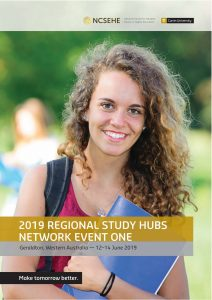 Regional Study Hubs Network Conference program