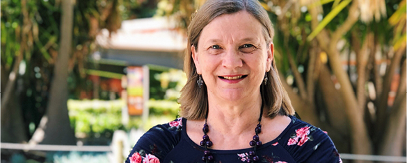 Online student Helen Miller