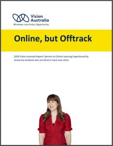 Vision Australia - Online but Offtrack