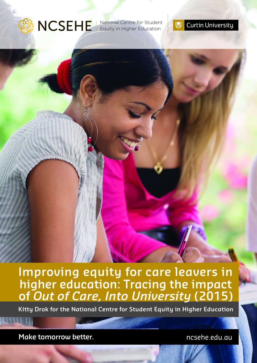 Improving equity for care leavers in higher education: NCSEHE impact report