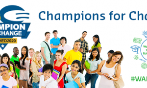 2020 WAHED Champions for Change Banner