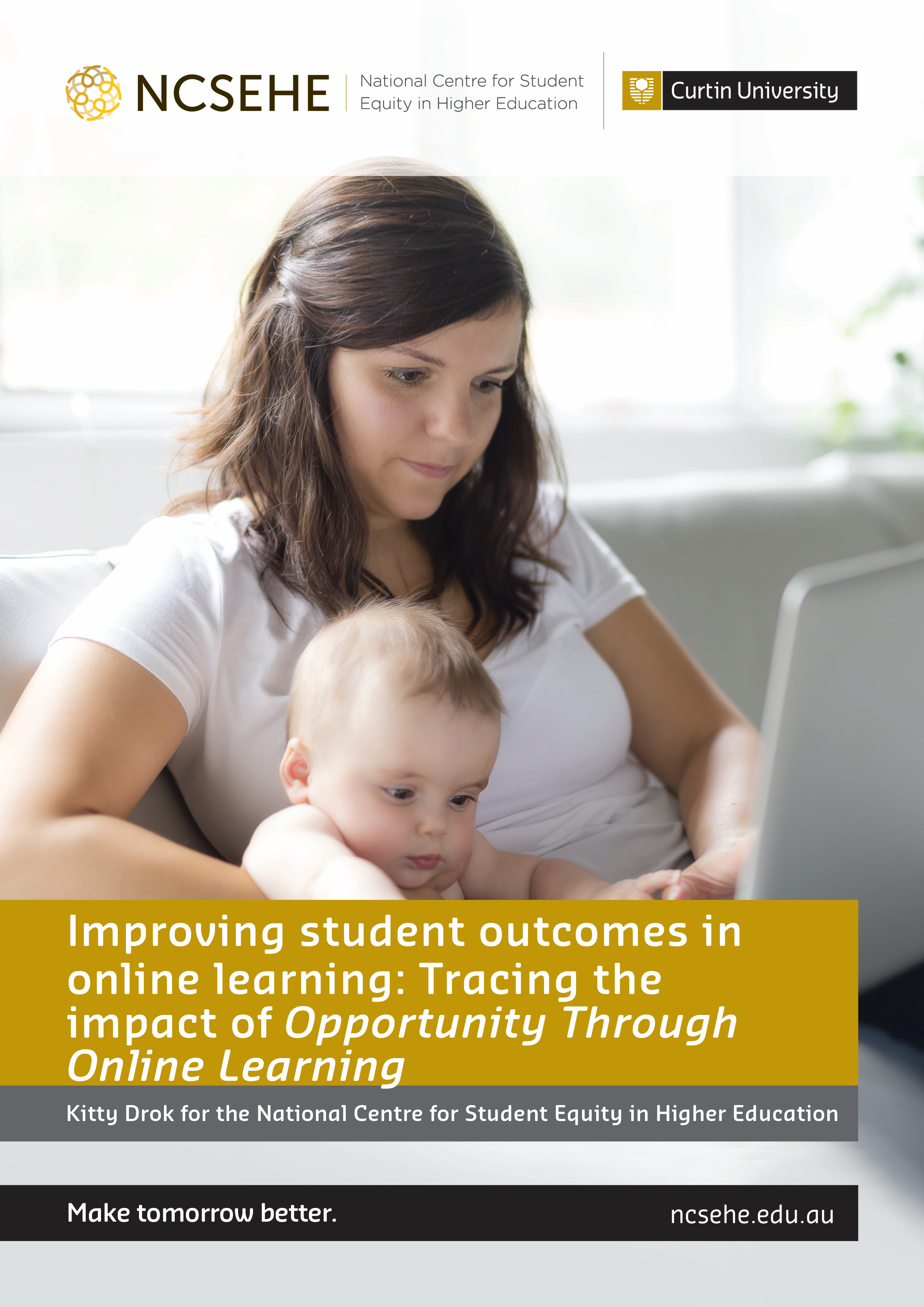 Cathy Stone impact report cover: Opportunity through online learning