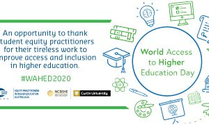 World Access to Higher Education Day banner image