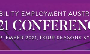Disability Employment Australia Conference banner